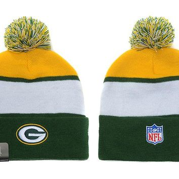 Green Bay Packers Beanies New Era NFL Football Hat