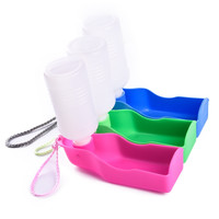 300ml Pet Dog Cat Bowl for Travel Puppy Foldable Water Feeder Collapsible Water Travel Bowl Easy Storage Convenient to carry