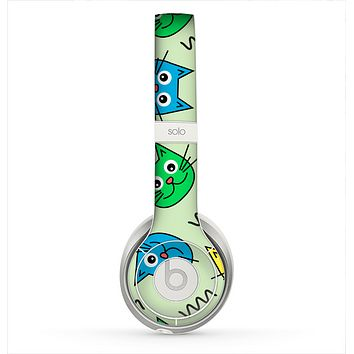 The Colorful Cat iCons Skin for the Beats by Dre Solo 2 Headphones