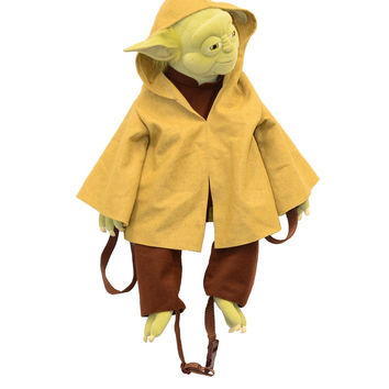 disney parks star wars tours 2015 yoda jedi master backpack plush new with tag