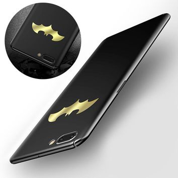 Batman Dark Knight gift Christmas Luxury Batman Phone Case For Oneplus 5 5T A5000 5.5 inch Coque Slim Fashion Protective PC Hard Back Cover For Oneplus5 5T New AT_71_6
