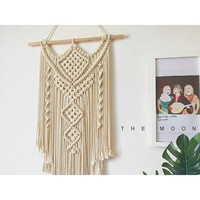 Indian Style Macrame Tapestry