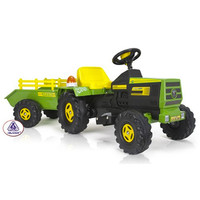 Kids 6v Electric Ride On Farm Tractor & Trailer - £239.95 : Kids Electric Cars, Little Cars for Little People