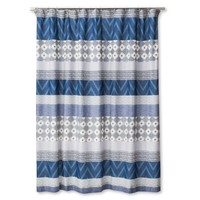 Mudhut™ Dhurrie Tie Dye Shower Curtain