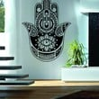 Hamsa Hand Version 9 Decal Sticker Wall Vinyl Art Blessings Power Strength
