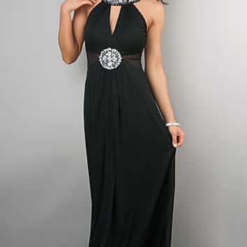 Sleeveless Black Evening Gown by Bee Darlin