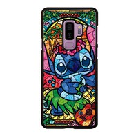 LILO & STITCH STAINED GLASS Samsung Galaxy S9 Plus  Case