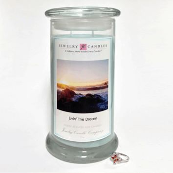 Livin' The Dream - Jewelry Greeting Candles