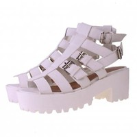 Platform Sandals | Buckle Platform Sandals |Fishermans Platform Sandals