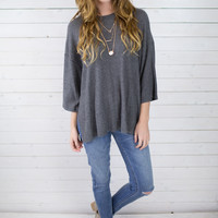 Jena Oversized Knit Top