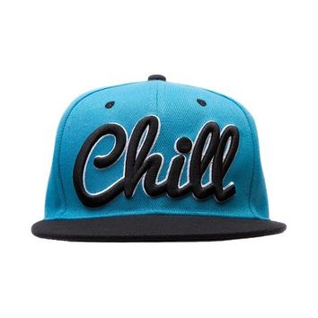 Mens Chill Snapback Hat, Bright Blue, at Journeys Shoes