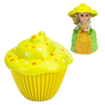 Cupcake Surprise Princess Edition Scented Doll Jenny + Bonus Matching Mini Cupcake Surprise Doll Jenny Set Of 2