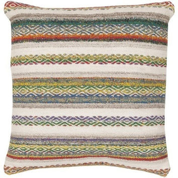 Diego Woven Stripe Throw Cushion