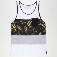 Billabong Neptune Mens Tank White  In Sizes
