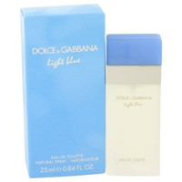 Light Blue By Dolce & Gabbana Eau De Toilette Spray .8 Oz
