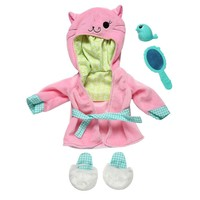 Baby Alive One Size Fits All Outfits - Pretty Kitty Bathrobe