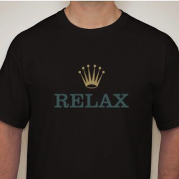 Relax/Crown BLK T-Shirt