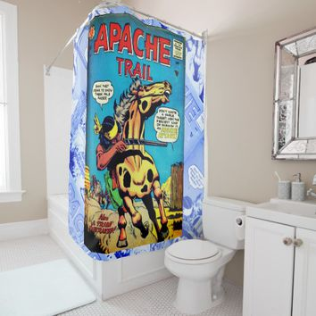 Apache Trail #1 Shower Curtain