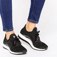 adidas Pureboost X Sneakers In Black And White at asos.com