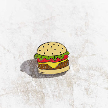 Big Bud Press X UO Burger Pin - Urban Outfitters