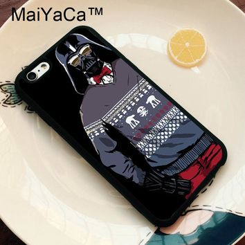 MaiYaCa Star Wars Darth Vader Phone Cases for iPhone 6 Case Phone Back Cover for Apple iPhone 6 6s Phone Case Soft TPU Capa