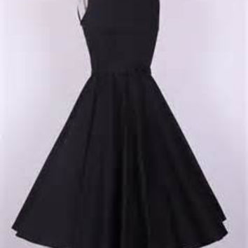 vintage dress black 3xl plus size prom party bridesmaid 50s style clothing  uk designer online rock pinup couture