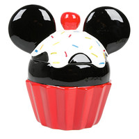 Disney Mickey Mouse Cupcake Cookie Jar