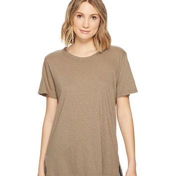 Michael Stars Supima Cotton Slub Short Sleeve Boyfriend Tee at Zappos.com