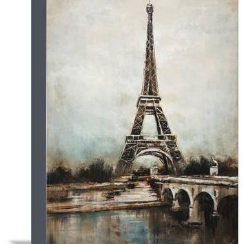 Paris Giclee Print by Sydney Edmunds at Art.com
