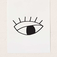 Cult Paper Eye Art Print - Urban Outfitters