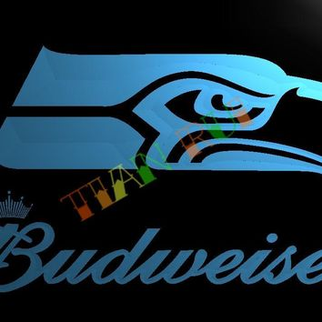 LD300- Seattle Seahawks LED Neon Light Sign   home decor  crafts
