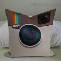 Instagram Case, Pillow Cover, Custom Pillow Case