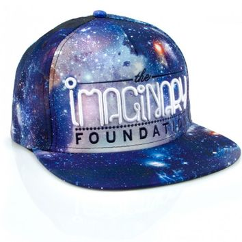 Imaginary Foundation All Over Cosmic Snapback - Hats - Store