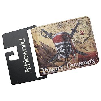 New Science Fiction Movies AVATAR Pirates of the Caribbean Jack TV SUPERNATURAL Mens Wallets Female Purse Cards Coin Zip Bolsa
