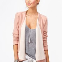 Draped Chiffon Jacket in  What's New at Nasty Gal