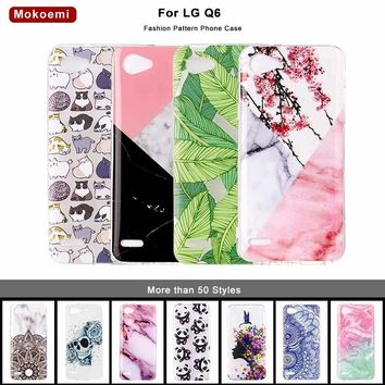 "Mokoemi Fashion Cute Luxury Soft 5.5""For LG Q6 Case For LG Q6 Cell Phone Case Cover"