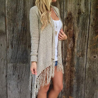Winter Knit Fashion Cardigan Tops [9631638543]
