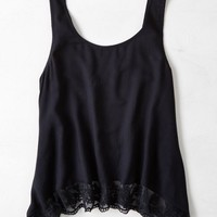 AEO Women's Lace Trim Tank