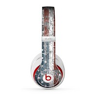 The Vintage USA Flag Skin for the Beats by Dre Studio (2013+ Version) Headphones