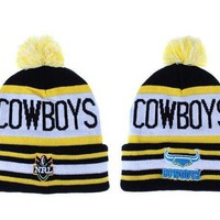 North Queensland Cowboys Beanies New Era Nrl Football Hat