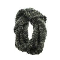 BCBGeneration Womens Knit Decorative Loop Scarf