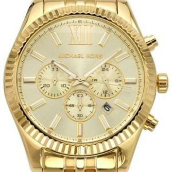 Michael Kors MK8281 Lexington Chronograph Stainless Steel Men's Watch - Michael Kors  Handbags, Watches and Sunglasses - Modnique.com