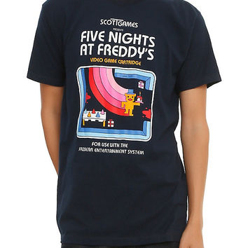 Five Nights At Freddy's Retro Game T-Shirt