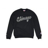 1984-85 Wordmark Crew Chicago Bulls - Mitchell & Ness