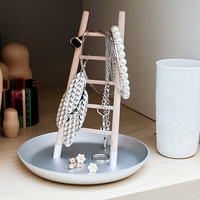 Kikkerland Design Inc » Products » Jewelry Holder Ladder In Silver