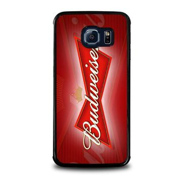 budweiser samsung galaxy s6 edge case cover  number 1