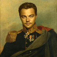 Leonardo Dicaprio - replaceface Art Print by Replaceface