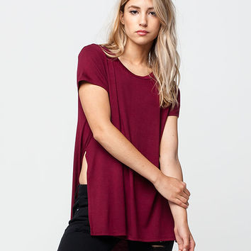 LIRA Atlas Womens Tunic Tee | Knit Tops & Tees