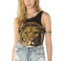 Somedays Lovin The Visionary Lion Print Bodysuit : Karmaloop.com - Global Concrete Culture