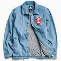 Starter X UO MLB Chicago Denim Coach Jacket - Urban Outfitters
